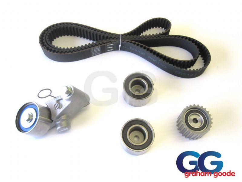 Impreza Turbo WRX STi Cam Timing Belt Kit 1996-1998 V3 V4 Belt x4 Tensioner Pulleys GGS123TBK3